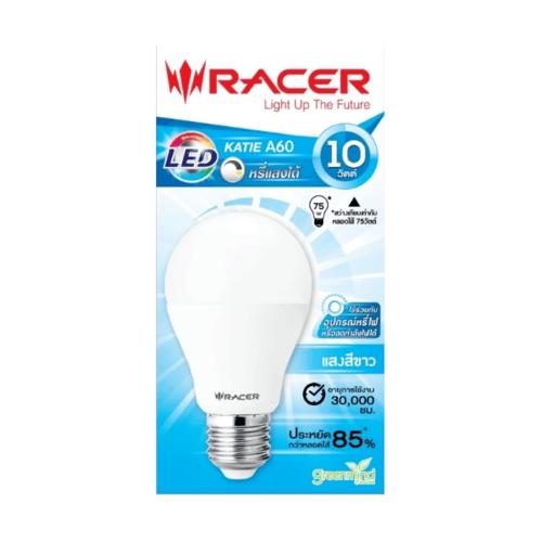 RACER หลอด LED  KATIE Bulb A60 Dim/10W. DL.E27