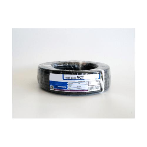 RACER สายไฟ IEC53 VCT 3x1.5 Sq.mm. 50M. สีดำ