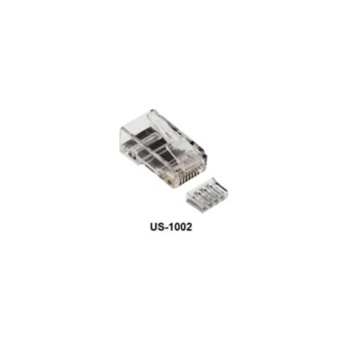 LINK หัวแลนตัวผู้ RJ45 CAT6 LINK (10ชิ้น/แพ็ค) US-1002