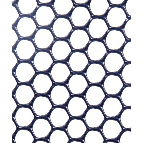 Leo Net ตาข่ายพลาสติก หกเหลี่ยม 25มม x 180ซม x 10ม  #618 สีดำ