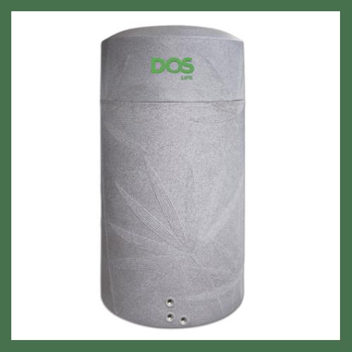 DOS ถังเก็บน้ำบนดิน สีแกรนิตเทา 2000L+ปั้มน้ำ WM-P350W  NATURA WATER PAC สีเทา