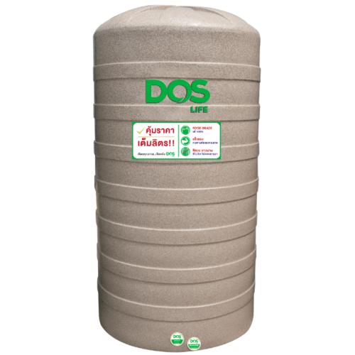 DOS ถังเก็บน้ำ 2000 L แกรนิตทราย GRANITO DWT  สีน้ำตาลอ่อน