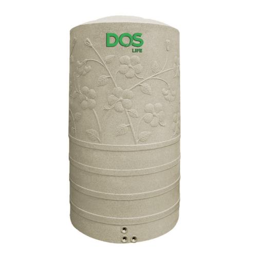 DOS ถังเก็บน้ำบนดิน 1050L แกรนิตทราย CHABA  สีน้ำตาลอ่อน