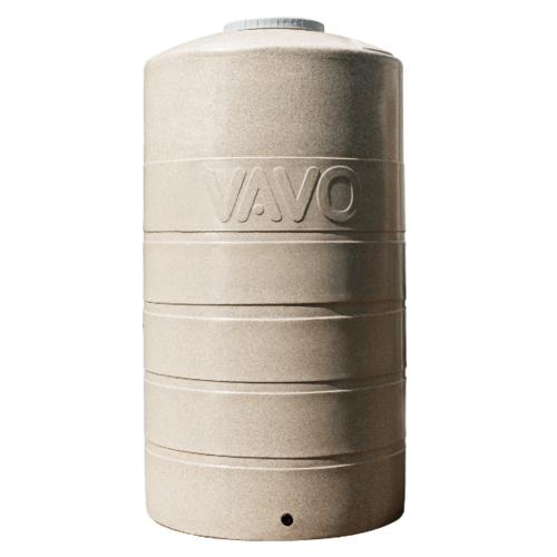 VAVO ถังเก็บน้ำบนดิน 1000L.  สีทราย