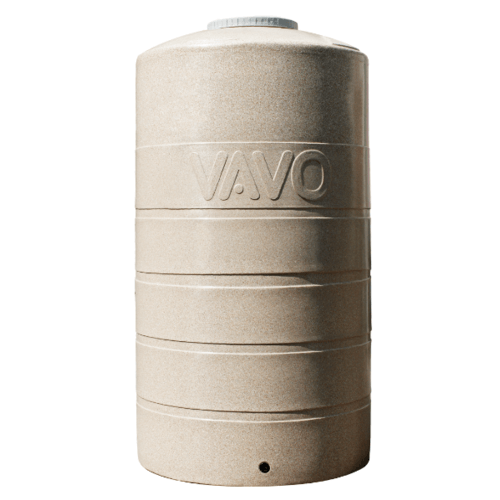 VAVO ถังเก็บน้ำบนดิน 1500L DEE สีทราย