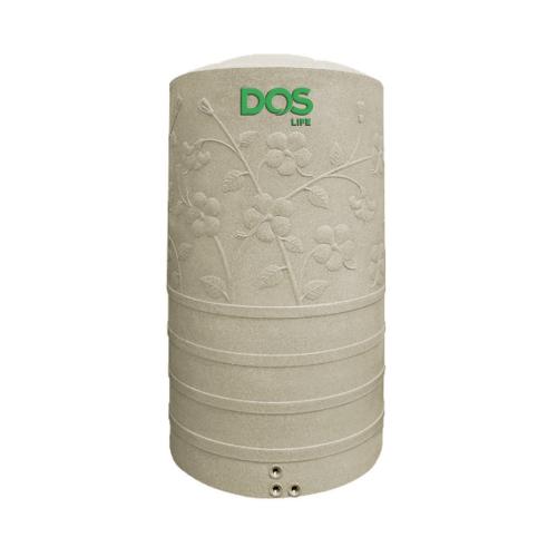 DOS ถังเก็บน้ำบนดิน 400L แกรนิตทราย CHABA  สีน้ำตาลอ่อน