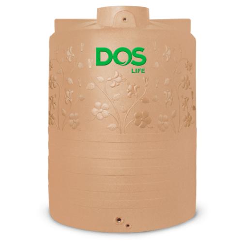 DOS ถังน้ำบนดิน 4000L พิงค์โกลด์ CHABA