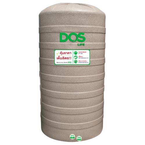 DOS ถังเก็บน้ำ 3000 L แกรนิตทราย GRANITO DWT  สีน้ำตาลอ่อน
