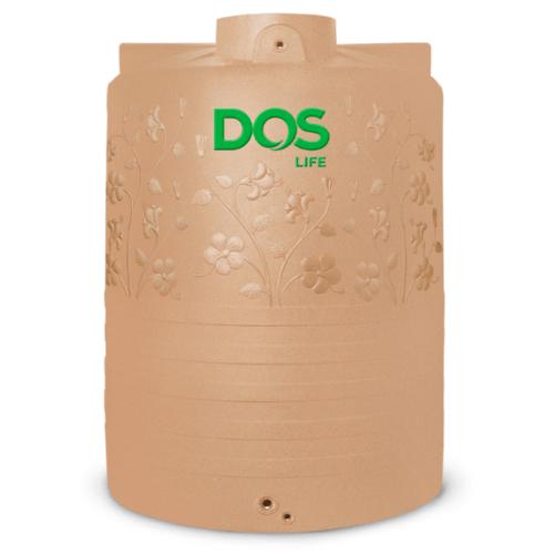 DOS ถังน้ำบนดิน 6000L พิงค์โกลด์ CHABA