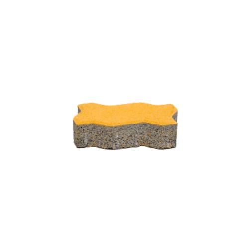 KC บล็อคตัวหนอน  6ซม. สีเหลือง