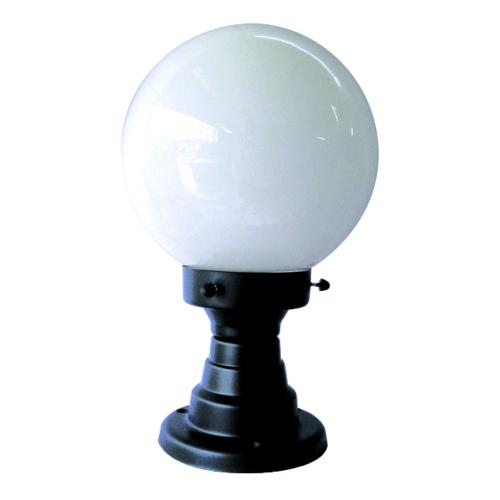 The Sun โคมไฟหัวเสากลมถ้วย 8 นิ้ว แก้วกลม  PA8/1-B