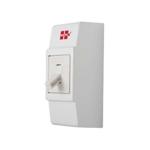 HI-TEK เบรคเกอร์15A  สีขาว+กล่อง HCB28015WH