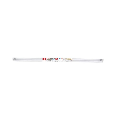 HI-TEK ชุดโคมไฟLED T8 9W อีโค่ซีรีส์ เข้าไฟ 2 ด้านแสงขาว HFILT0009D