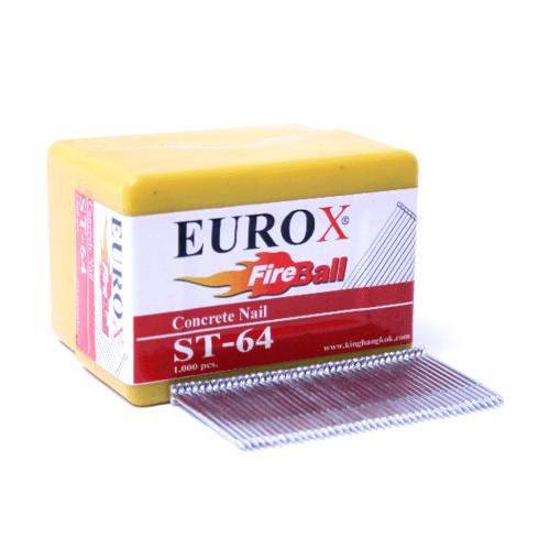 EUROX ตะปูมีหัวใช้ยิงคอนกรีต ST-57