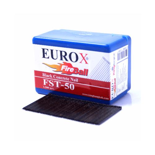 EUROX ตะปูยิงคอนกรีต FST30 1000 นัด