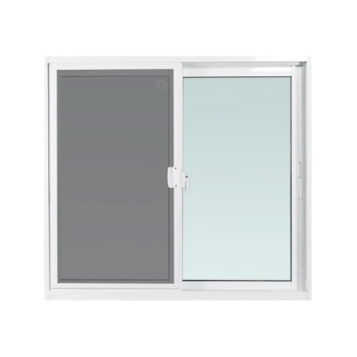 ENZO หน้าต่างอลูมิเนียมบานเลื่อน SS (Enzo) ขนาด 100x110ซม. EZ-SS1011 สีขาว
