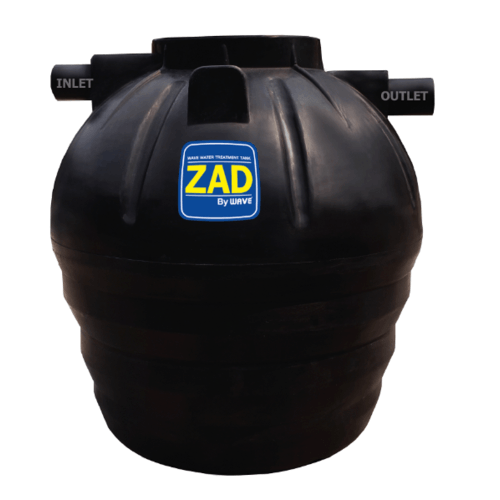 WAVE ถังบำบัดน้ำเสีย   ZAD-2500 ลิตร