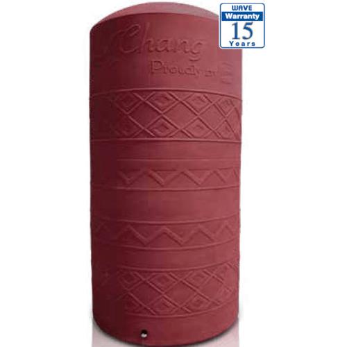 WAVE ถังเก็บน้ำช้างเพลน CHANG-4000 P ลิตร สีแดง