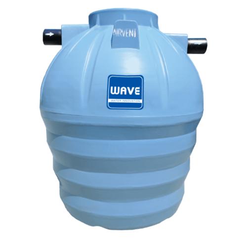 WAVE ถังบำบัดน้ำเสียชนิดกรอง  WF-2000 ลิตร