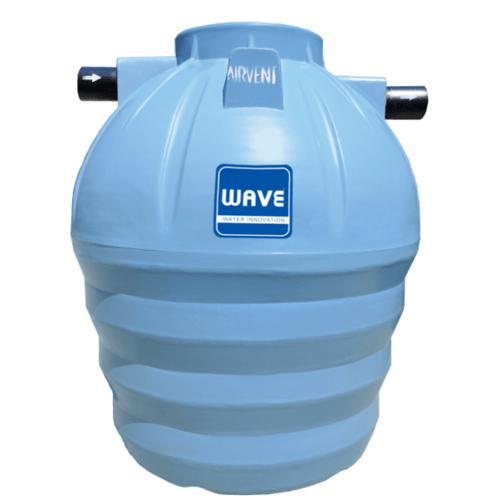 WAVE ถังบำบัดน้ำเสียชนิดกรอง  WP-1600 ลิตร