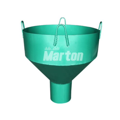 MARTON กรวยเทคอนกรีต 6 นิ้ว  - สีเขียว