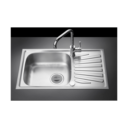MEX อ่างล้างจาน 1 หลุม มีที่พัก DL75MN