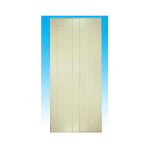 CHAMP ประตู PVC ขนาด  60x180 ซม. M1 (ไม่เจาะ) สีครีม