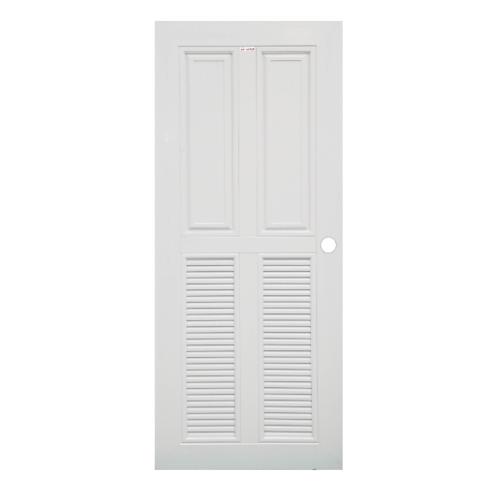 CHAMP ประตู UPVC ขนาด  (90X200) ซม. MU-3  สีขาว