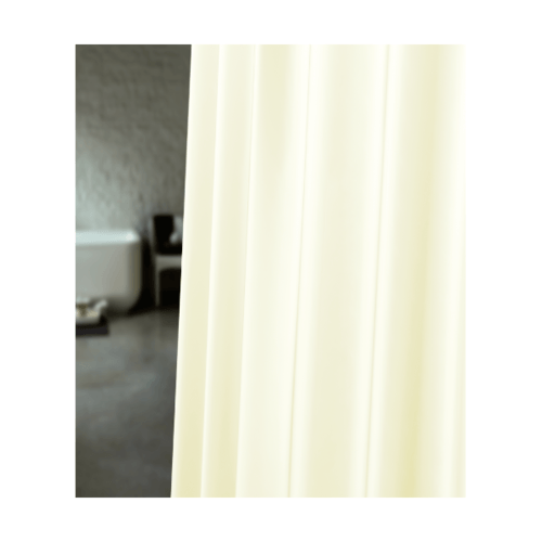WSP ม่านห้องน้ำเนื้อผ้าไนล่อน สีเบจ SCP-7 180x18 SCP-7