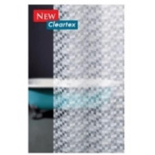 WSP ม่านห้องน้ำพลาสติกพิมพ์ลาย  180x180 ACUSTEX SCP-2/B5117