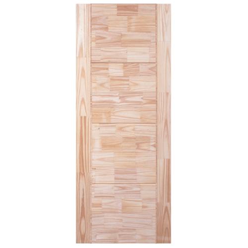 WINDOOR ประตูไม้สนNz บานทึบ 90x240ซม. TOP-02