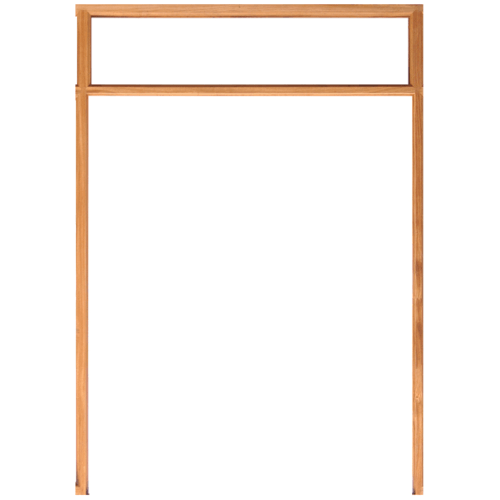 WINDOOR  วงกบประตูไม้เรดวูด ขนาด 180x200ซม. Com 14