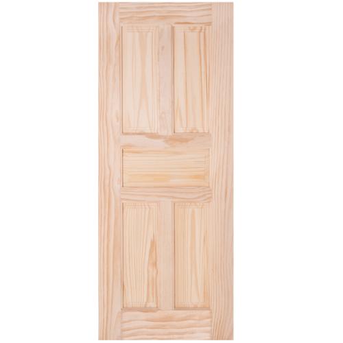 WINDOOR ประตูลวดลาย สนNz  ขนาด 80x200ซม. L 115