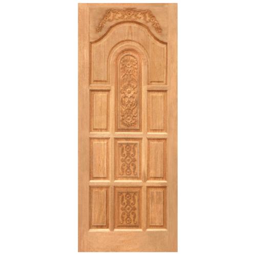 WINDOOR ประตูลวดลายไม้สนNzขนาด 90x200ซม. LA 01
