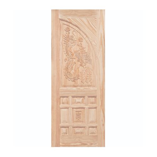 WINDOOR ประตูสลักลายไม้สนนิวซีแลนด์ขนาด 90x200ซม. LA 999