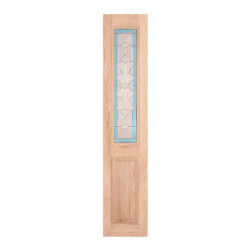 WINDOOR ประตู+กระจก สนนิวซีแลนด์ ขนาด 40x200ซม.   MD-333 SL