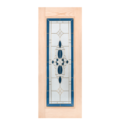 WINDOOR ประตู+กระจกสนนิวซีแลนด์ ขนาด 100x200ซม. CCA