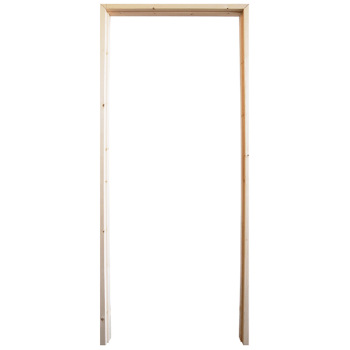 WINDOOR วงกบประตูไม้เรดวูด ขนาด 80x200cm.  COM 1
