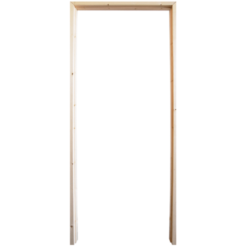 WINDOOR วงกบประตู เรดวูด ขนาด 90x200 ซม. Com 1