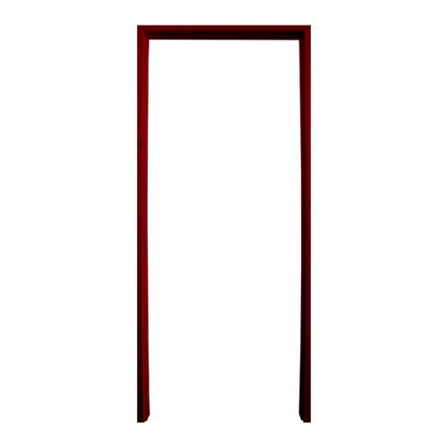 WINDOOR วงกบประตูไม้เรดวูด ขนาด 100x200 ซม. (ทำสี) Com 1