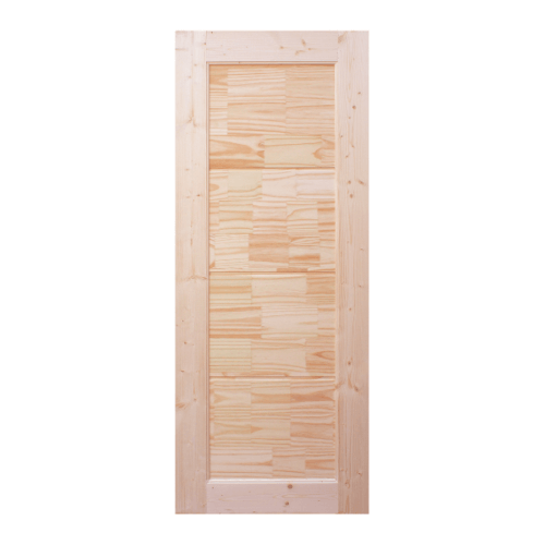 WINDOOR ประตูไม้สนNz บานทึบ ขนาด 100x210ซม. CE-02 สีครีม