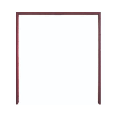 WINDOOR วงกบประตูไม้เรดวูด ขนาด 160x200ซม. ทำสี Com-6