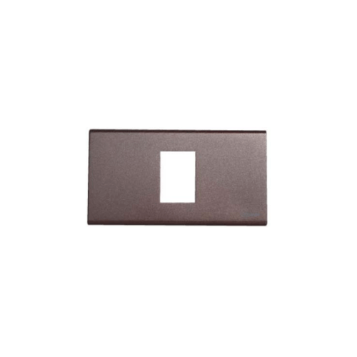 CHANG ฝาพลาสติก 1 ช่อง FA-201C-G Y-Series Metallic สีเทา