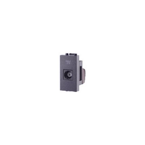 CHANG เต้ารับ TV socket  i-Modern T-150-C สีดำ