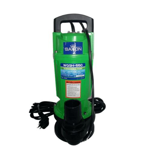 SAXON PUMPS ปั๊มจุ่มไดโว่  550 วัตต์ SX-WQSH-550 สีเขียว