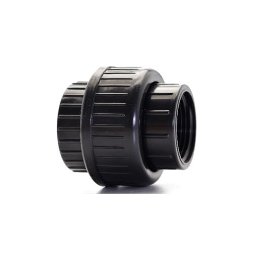 Super Products ข้อต่อ ยูเนียน 1 1/2''   U-ABS  สีดำ
