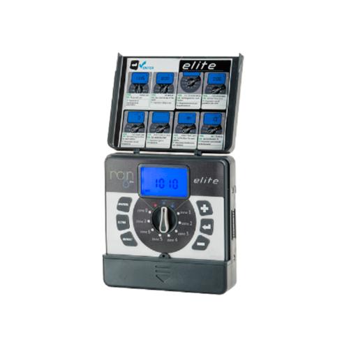 RAIN ตัวควบคุม 10 สถานี 9 V. รุ่นใช้ในร่ม ELITE 10 ID