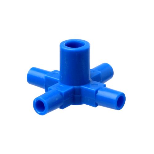 Super Products ข้อต่อ 4 ทาง (5 ตัว / แพ็ค) FOG CROSS ฟ้า
