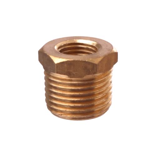 Super Products ข้อต่อเกจทองเหลืองเกลียวนอก1/4นิ้ว-1/2นิ้ว GC M