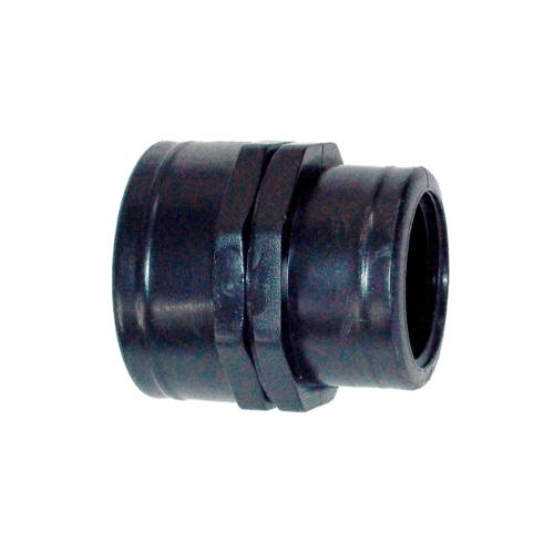 Super Products ข้อต่อลดกลมเกลียวใน 1 นิ้ว x 1/2 นิ้ว (2 ตัว / แพ็ค) RS ดำ